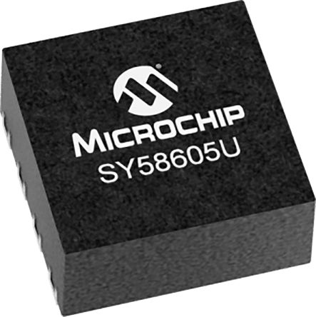 Microchip Technology SY58605UMG-TRDual-ChannelBuffer & Line Driver, LVDS, Inv/Non-Inv, 8-Pin DFN