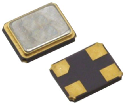 20MHz Crystal Unit Seam Weld, SMD 4-Pin 3.2 x 2.5 x 0.75mm product photo
