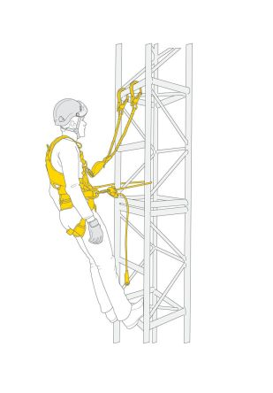 Petzl FALL ARREST and WORK POSITINING KI