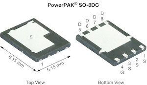 N-Channel MOSFET, 100 A, 30 V, 8-Pin SO-8 Vishay Siliconix SiDR392DP-T1-GE3