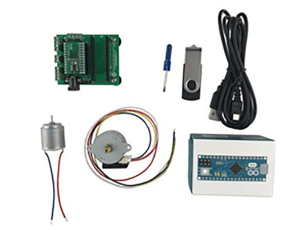 ON Semiconductor LV8548MCSLDGEVK Motor Driver Solution Kit for LV8548MC Featuring Simple DC Motors & Stepper Drive
