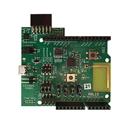 ON Semiconductor BLE-IOT-GEVB:IoT IDK BLE RSL10 Evaluation Board Development Kit for RSL10 - BLE-IOT-GEVB