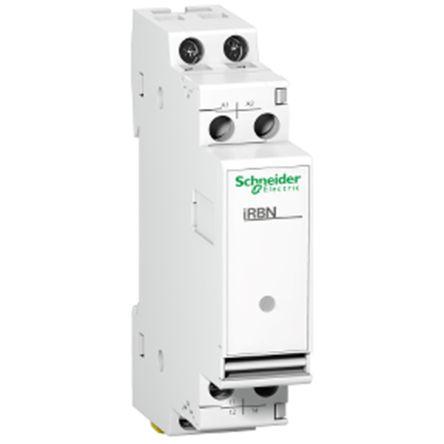 Schneider Electric Acti 9 iRBN Series , 230V ac SPDT Interface Relay Module, Tunnel Terminal , DIN Rail
