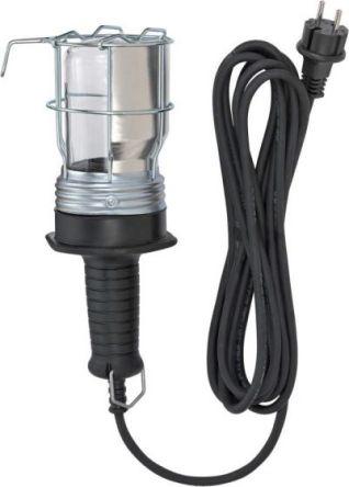 Rubber Handlamp IP54 5m H07RN-F 2x1,0 10