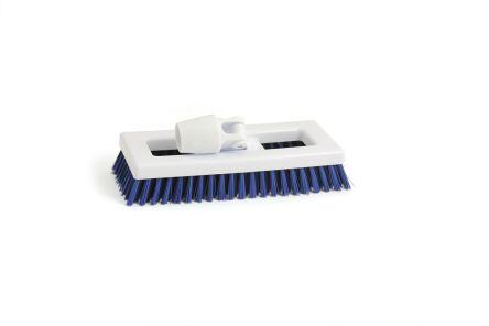 Hygiene Blue Bristle Deck Scrub Brush