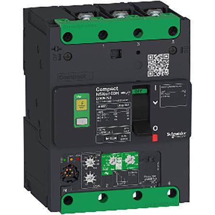 3 100 A MCCB Molded Case Circuit Breaker, Breaking Capacity 65 kA, Screw Compact NSXm