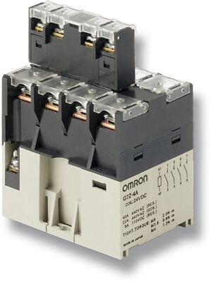 Omron 2 Pin Relay Socket, Chassis Mount, 110 V dc, 440 V ac for use with G7Z Relay