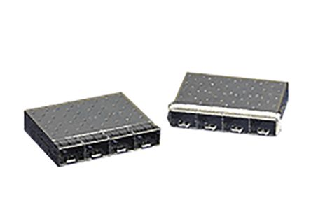 74754 Series 2 Port SFP+ Cage, Press Fit Termination product photo