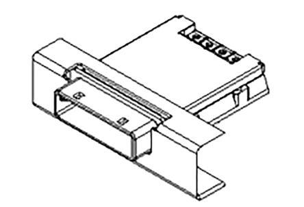 Molex 74540-0201 Торцевой разъем