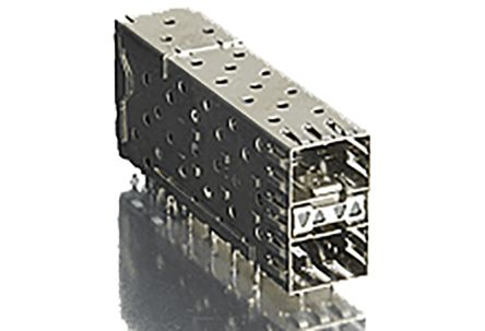Molex 75640 Series, 2 Port 40 Way Male Stacked SFP Connector