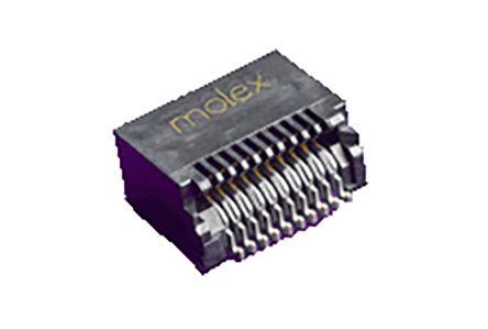 Molex 74441 Series, 20 Way Male SFP, SFP+ Connector