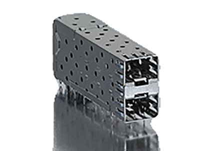 Molex 75462 Series, 2 Port 40 Way Male Stacked SFP Connector
