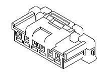 505151-0200 - Molex Male Crimp Connector Housing -, 2mm Pitch, 2 Way, 1 Row