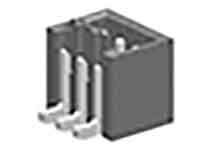 Molex 87437, 3 Way, 1 Row, Vertical Header