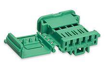 Molex 98817 Series Number, 1 Row 4 Way Cable Mount Socket Crimp Housing, with Crimp Termination Method