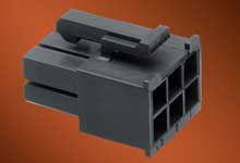 Molex Male Crimp Connector Housing, 4.2mm Pitch, 12 Way, 2 Row