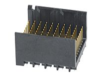 Molex 1.9mm Pitch 3 Pair Backplane Connector, Male, Vertical, 10 Column, 9 Row, 90 Way 76165