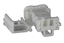 Molex 98817 Series Number, 1 Row 2 Way Cable Mount Socket Crimp Housing, with Crimp Termination Method