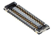 Molex 504618 Series Number 0.35mm Pitch 34 Way 2 Row Vertical PCB Socket, Surface Mount, Solder Termination