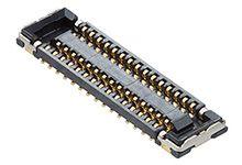 Molex, 504618 0.35mm Pitch 34 Way 2 Row Vertical PCB Socket, Surface Mount, Solder Termination