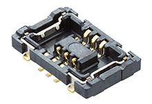 Molex 503548 Series Number 0.4mm Pitch 6 Way 2 Row Vertical PCB Socket, Surface Mount, Solder Termination