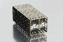 Molex 75714 Series, 2 x 2 Port 80 Way Female SFP Connector
