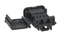 Molex 98819 Series Number, 1 Row 2 Way Socket UCC Receptacle, with Crimp Termination Method