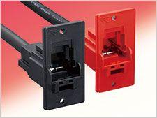 Hirose EF1 Series inline connector Cable Mount Socket, 1P, Crimp Termination, 160A, 1 kV ac/dc