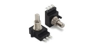 CTS Linear Carbon Potentiometer with an 6.35 mm Dia. Shaft - 100kΩ, ±10%, 1/2W Power Rating, Linear, Bushing Mount
