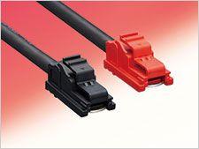 Hirose EF1 Series inline connector Cable Mount Plug, 1P, Crimp Termination, 160A, 1 kV ac/dc