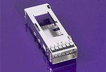 74750 Series 1 x 1 Port Cage, Press-Fit Termination product photo