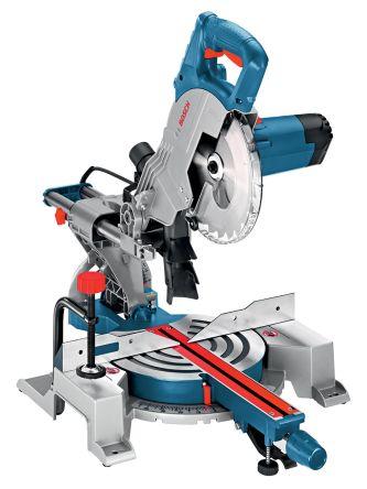 Bosch GCM800SJ Corded Mitre Saw, 110V, BS 4343