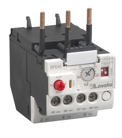 Lovato Contactor Relay -, 0.4 → 2 A, 2 A, 1.1 kW, 3P