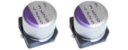 Panasonic Aluminium Polymer Capacitor 47μF 35V dc 6.3mm Solder SVPK Series, Surface Mount Polymer, ±20%