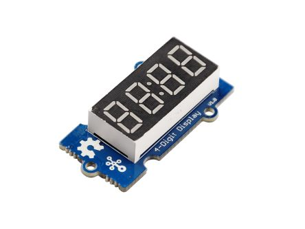 104030003 4 Digit Alphanumeric LED Display, Red product photo