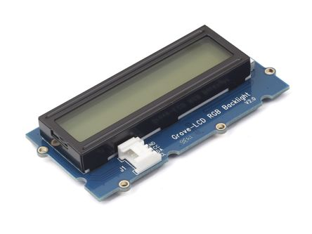 Seeed Studio 104030001, Grove-LCD RGB Backlight LCD Development Board With Two I/Os for Grove Module