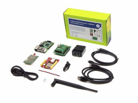 Seeed Studio LoRa LoRaWAN Gateway-868MHz Kit with Raspberry Pi 3 868MHz for RHF0M301 - 110060622