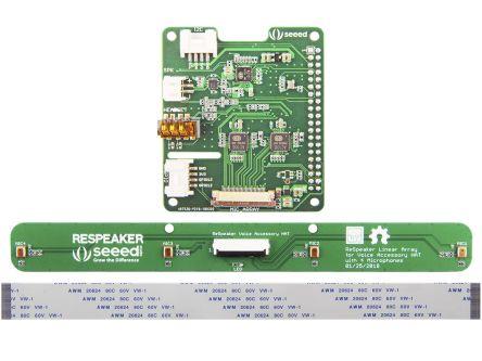 Seeed Studio 107990056, ReSpeaker 4-Mic Linear Array Kit for Raspberry Pi for Raspberry Pi
