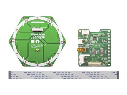 Seeed Studio 107990055, ReSpeaker 6-Mic Circular Array Kit for Raspberry Pi for Raspberry Pi
