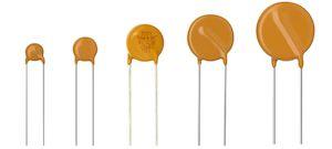 Vishay, VDRS Metal Oxide Varistor 700pF 10A, Clamping 165V, Varistor 100V