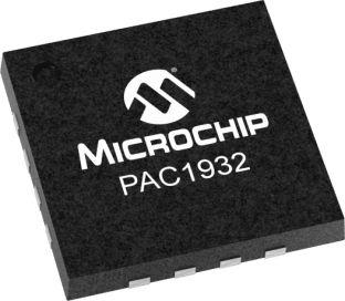 Microchip Technology PAC1932T-I/JQ, Current Monitor 16-Pin, UQFN