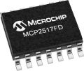 Microchip MCP2517FD-H/SL, CAN Controller 8Mbit/s, 14-Pin SOIC
