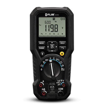 FLIR DM90 Handheld Digital Multimeter With UKAS calibration , 10A ac 1000V ac 10A dc 1000V dc 50MΩ