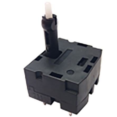 C & K, SAM-H2-LR10SPA, 2 Way Joystick Switch Round, Momentary, 14V dc