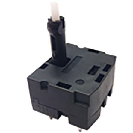 C & K, SAM-H2-LR14SPA, 2 Way Joystick Switch Round, Momentary, 14V dc
