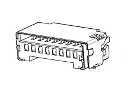 78723-1001 micro-sim 1,35 mm 6way smt socket Molex