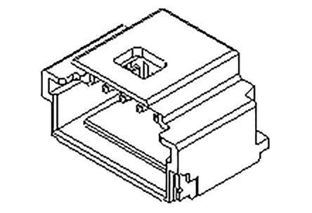 Molex, 501568, 14 Way, 1 Row, Right Angle PCB Header