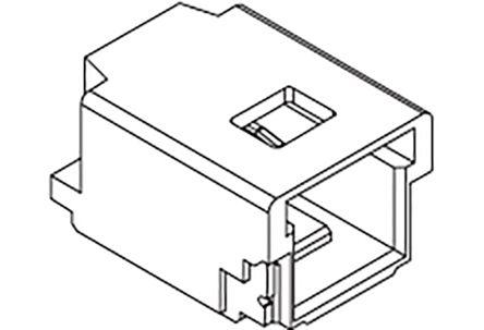 Molex, 501568, 4 Way, 1 Row, Right Angle PCB Header