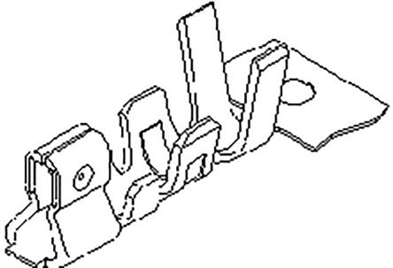 Molex 87421-0000-TR3750 Контакт обжимного типа