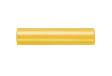 Schutzinger Yellow, Female to Female Banana adapter With Brass contacts